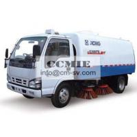 Wholesale Stainless Steel Special Vehicles , Urban Road Cleaning Street Sweeper Truck from china suppliers