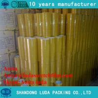 Wholesale luda hot sale 30mm strong bopp plastic packing adhesive tape roll from china suppliers