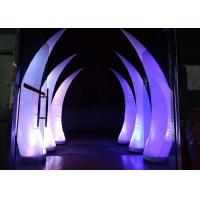 Wholesale Party Stage Decoration Inflatable Cone with LED Lighting from china suppliers