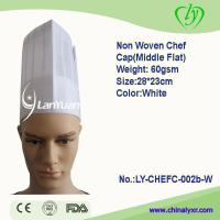 Wholesale Non Woven Chef Cap (Middle Flat) from china suppliers
