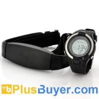 Wholesale Heart Rate Monitor Watch with Chest Belt (EL Backlight, Stopwatch) from china suppliers