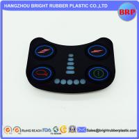 Wholesale High Quality Foodgrade Custom 50 Shore A Various Silicone Rubber Keypad With Spray Wear-Resistant Hand Ink from china suppliers