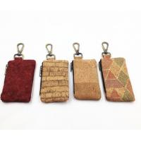 Wholesale 2017 Hot Sale Colored/ Natural Cork Coin Pouches with Brass Zipper from china suppliers