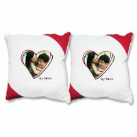 Wholesale Modern Cute Lover Photo Cotton Decorative Sofa Pillows For Indoor from china suppliers