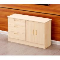 Wholesale Home Interiors Furniture Modern Side Table With Drawer Solid Wood Particle Board from china suppliers