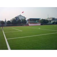 Wholesale DZH25 Soccer Artificial Turf Grass , UV-Resistant Synthetic Turf Gauge 3 / 8 from china suppliers