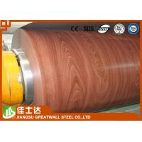 Wholesale ASTM,AISI,JIS,GB,CGCC Wooden Color Ppgi Steel Coil Pre-Painted Galvanized Steel Coils from china suppliers