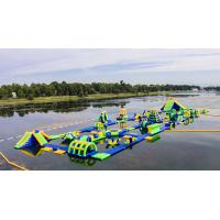 Wholesale Inflatable Floating Water Sports Theme Park / Water Splash Park Installed In Milano from china suppliers