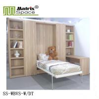Wholesale Kids Vertical Bed /Multifunctional Foldable Bookcase Wall Bed Unit/Melamine finish from china suppliers