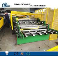 Wholesale Double Layer Rolling Forming Machine , Double Deck Sheet Metal Forming Machine from china suppliers
