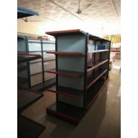 Wholesale Metal Island Supermarket Display Shelving Gondola Retail Storage Shelf For Shop from china suppliers