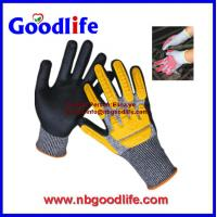 Wholesale PU Palm Coated Cut Resistant Glove TPR cut resistance Gloves from china suppliers