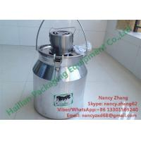 Wholesale Home Appliances Electric Milk Mixer Machine With Food Grade Aluminum Milk Can from china suppliers
