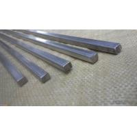 Wholesale Large Diameter Square Metal Rod , Solid Stainless Steel Bar High Oxidation Resistance from china suppliers