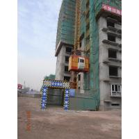 Wholesale Building Rack and Pinion 1 Ton Passenger and Goods Hoists, Material lift Equipment SC100 from china suppliers