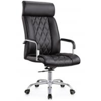 Wholesale High Level Executive Swivel PU Leather High Back Office Chair from china suppliers