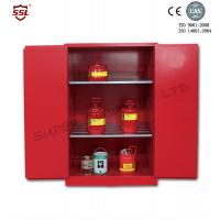 Wholesale SSMR100045P  Chemical Acid Storage Cabinet  Manual Close 3-point self-latching Steel Two door from china suppliers
