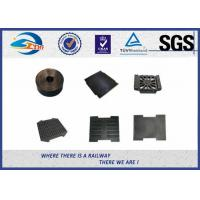 Wholesale Railway Track Pad Plastic And Rubber Part EVA HDPE Black Surface from china suppliers