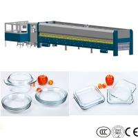 Wholesale Cookware Glass Processing Equipment Pot Lid Glass Tempering Machine from china suppliers