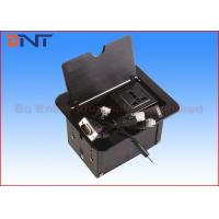 Wholesale Aluminum Alloy Manual Black Table Cable Cubby Slip Up Universal Standard from china suppliers