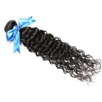 Wholesale Cuticle virgin Brazilian hair weave ,deep curly (water curly) from china suppliers