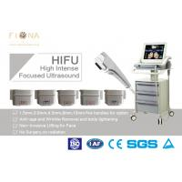 Wholesale Anti Wrinkle Ultrasound Skin Tightening Machine SMAS Therapy 430 * 430 * 1100mm from china suppliers
