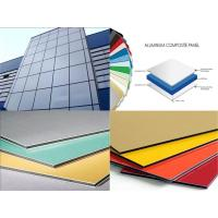 Wholesale 3mm / 4mm Thickness Aluminum Composite Metal Panels Anti-Static , Fireproof from china suppliers