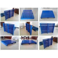 Wholesale Customized 4-way Double Faced Steel Pallet, metal pallet, iron pallet for storage and warehouse from china suppliers