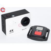China White Ultra HD Remote Control Action Camera 4k 60fps EH9R Logo Customized on sale