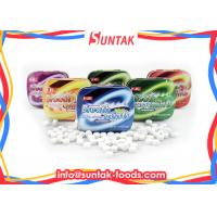 Wholesale 15g Supplement Sugar Free Round Mint Candy Tablet Tin Packaged from china suppliers