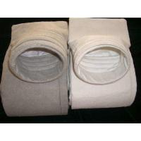 Buy cheap polyester nonwoven dust filter bag used in casting house dedusting filter house less than 130 degree C from wholesalers