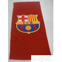 Wholesale Colorful Suede Microfiber Swimming Towel , Quick Dry Logo Printed Microfiber Towel from china suppliers