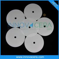 Buy cheap ZrO2/Zirconia Ceramic Disc With High Friction Coefficient/Innovacera from wholesalers