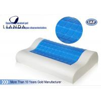 Wholesale PU neck support memory foam Cooling Gel Pillow head rest sleeping from china suppliers