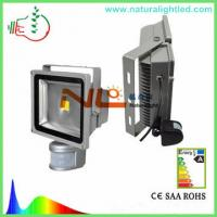 Wholesale good quality PIR 50W flood light with sensor CE ROHS from china suppliers