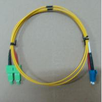 Wholesale 2.0mm / 3.0mm Fiber Optic Patch Cord LC SC Singlemode Dimplex With High Return Loss from china suppliers