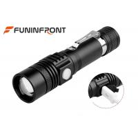 Wholesale Long Shot Range T6 LED Zoom Torch, MINI USB Rechargeable LED Flashlight from china suppliers
