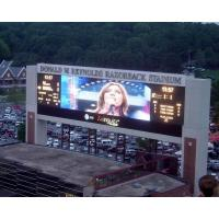IP65  Pixel Pitch 10mm Outdoor LED Advertising Display Board For Advertising