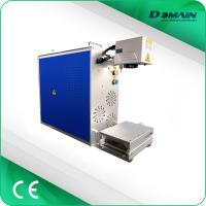 Wholesale Portable mini laser marker 20W 30W 50W fiber laser marking machine qr code laser engraving machine from china suppliers