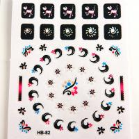 Wholesale Animal pattern Nail Art Decals non toxic Printing nail stickers from china suppliers