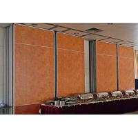 Wholesale Hotel Wooden Acoustic Rolling Wall Partition With Sliding Doors from china suppliers