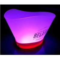 Wholesale Color changing sharp gear illuminated led ice bucket remote with stand lighted ice buckets from china suppliers