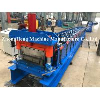 Wholesale KR 18 Model Hidden Joint Roof Panel Roll Forming Machine For 0.32mm Material With Seaming Machine 180 Degree Loacked from china suppliers