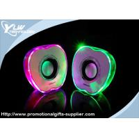 Quality Apple shape small portable light USB Mini Speakers with volume control for sale