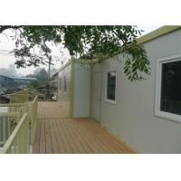 Wholesale Temporary Office Prefab Container House With 15mm Plywood Floor from china suppliers