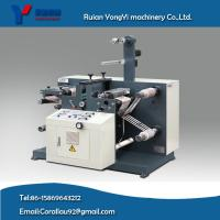 Quality Blank Adhesive Label Slitting/Rotary Die Cutting Machine for sale