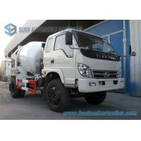 Buy cheap Forland Right Hand Drive 6 Wheeler 5 M3 Concrete Mixing Truck Mercedez Technology from wholesalers