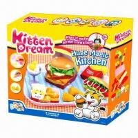 Buy cheap Huge Magic Kitchen Educational Toy, Made of Flour, Safe from wholesalers