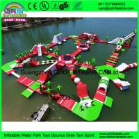 Quality 2016 best selling products inflatable amusement water theme floating park rides Inflatable aqua park for sale
