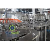 Wholesale Automated soda water bottling 3-in-1 carbonated filling monoblock machines and equipment from china suppliers